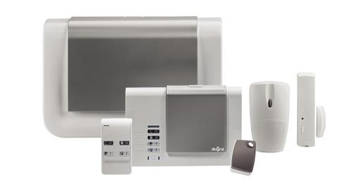 installation alarme sans fil et filaire ooreka. Black Bedroom Furniture Sets. Home Design Ideas