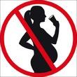 Logo alcool déconseillé pour les femmes enceintes
