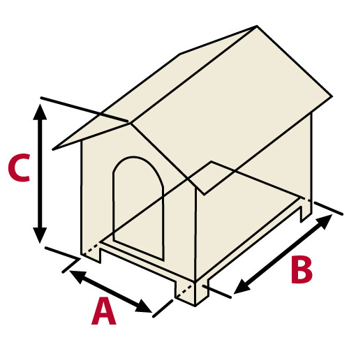 Fabriquer une niche chenil - Plan fabrication niche chien ...