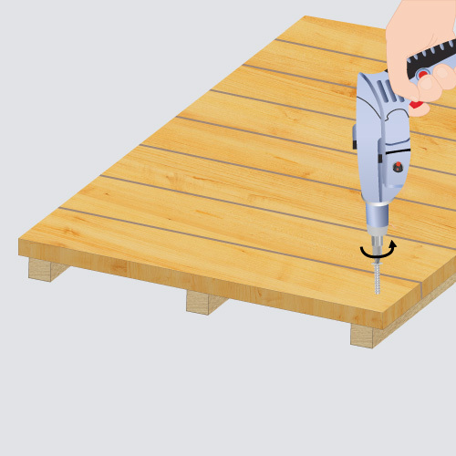 Assemblez le plancher