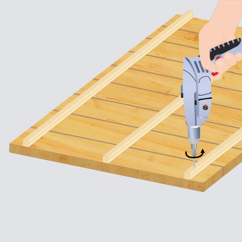 Fabriquer une niche chenil - Comment fabriquer une niche en bois pour chien ...