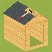 Fabriquer une niche chenil - Fabriquer une niche pour chat en bois ...