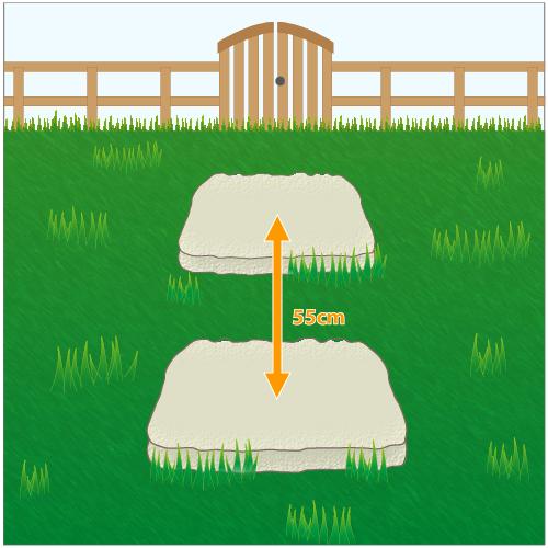 Poser des pas japonais am nagement de jardin - Distance entre pas japonais ...