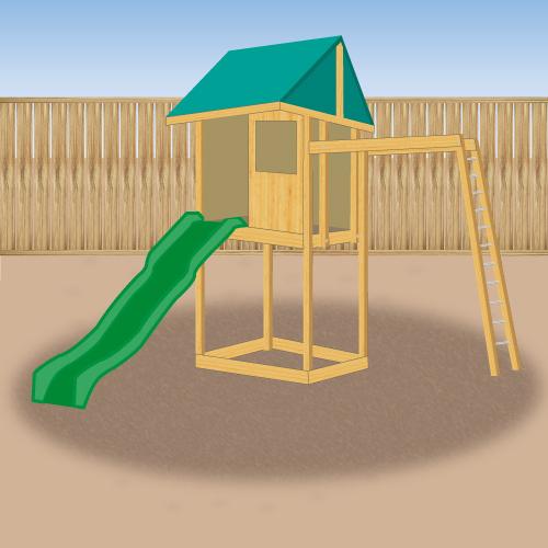 Installer un portique en kit am nagement de jardin for Kit amenagement jardin