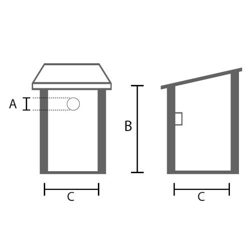 fabriquer un nichoir oiseaux am nagement de jardin. Black Bedroom Furniture Sets. Home Design Ideas