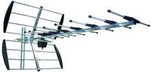 Antenne râteau UHF