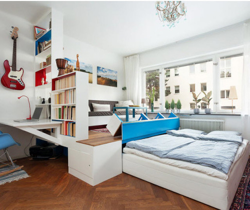 am nager un petit appartement ooreka. Black Bedroom Furniture Sets. Home Design Ideas