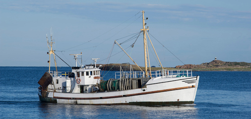 bateau de peche a