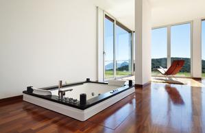 baignoire au sol installation ooreka. Black Bedroom Furniture Sets. Home Design Ideas