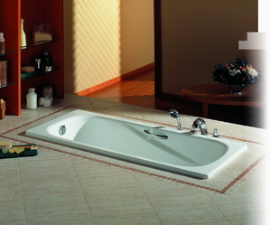 Baignoire encastrable tout sur la pose ooreka - Comment repeindre une baignoire ...