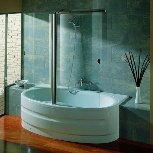 salle de bain combin bain douche 2 en 1. Black Bedroom Furniture Sets. Home Design Ideas