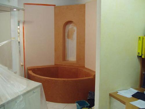 tadelakt salle de bain sur carrelage salle de bain accessoires et meubles de salle - Tadelakt Salle De Bain Sur Carrelage