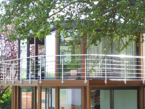 Balcon En Bois Kit : V?randa en kit Akena