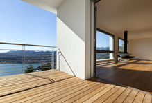 Un appartement en bord de mer