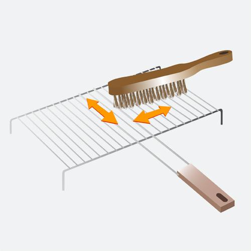 Entretenir un barbecue