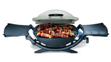 Ce barbecue portable permet de réaliser des grillades où que vous soyez