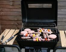 Zoom sur le barbecue d'intérieur