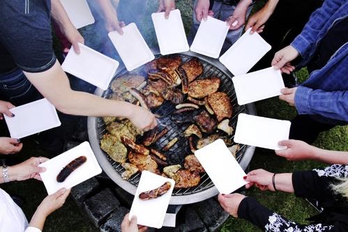 Un barbecue