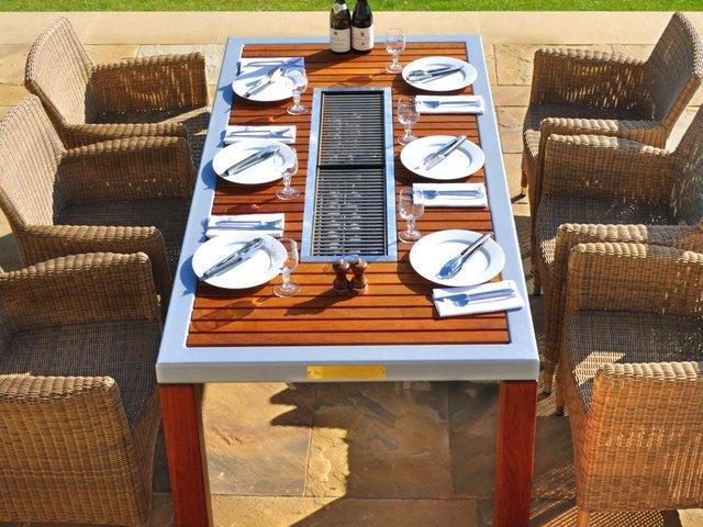 Table Barbecue Integre