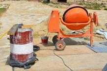 Betonniere chantier tonneau
