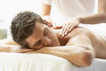 Homme massage