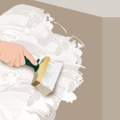 fabriquer un badigeon au blanc de meudon peinture. Black Bedroom Furniture Sets. Home Design Ideas