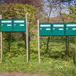 Boîte aux lettres normalisée