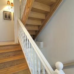 D caper un escalier escalier for Peindre escalier travertin