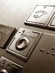 Boutons d'un ascenseur