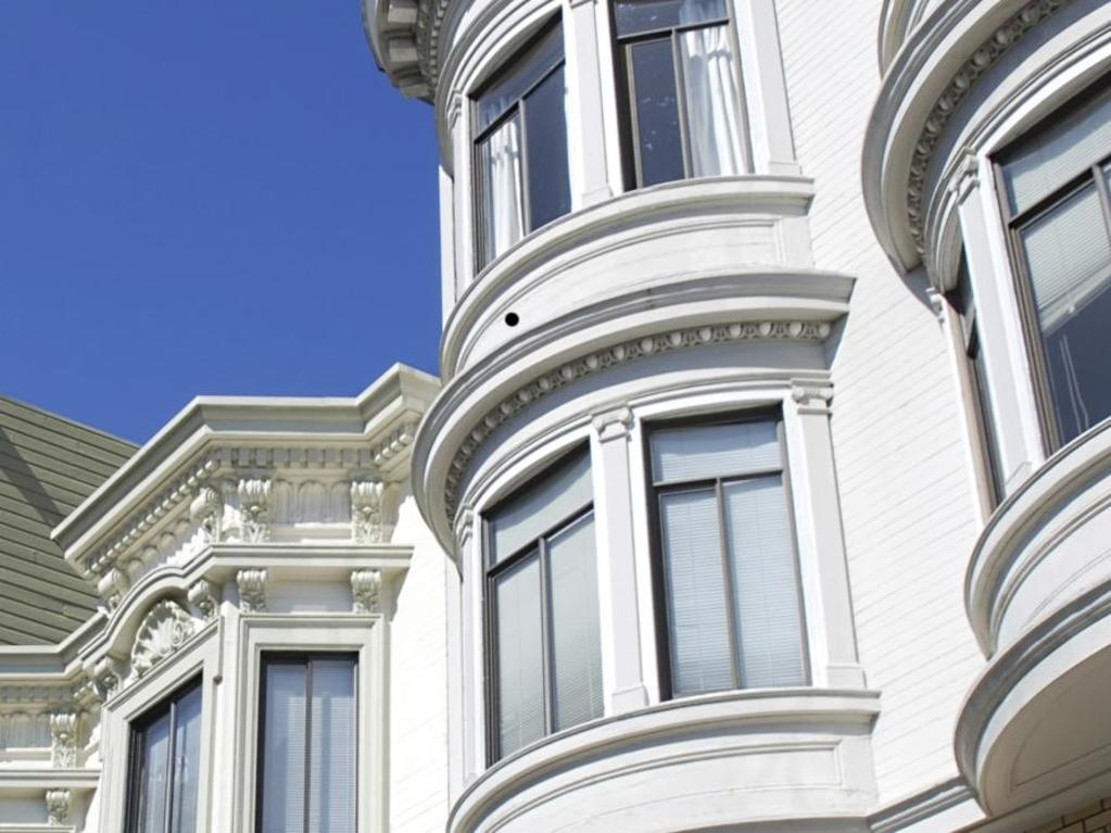 Bow window oriel et bay window for Maison avec bow window