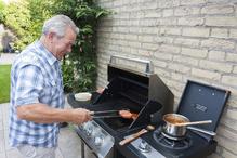 senior barbecue exterieur grill