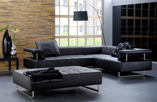 canap en cuir les trois types et leur prix ooreka. Black Bedroom Furniture Sets. Home Design Ideas