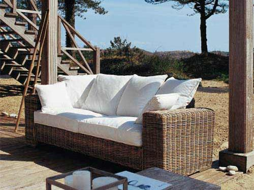 Salon de jardin en osier : style, entretien, prix - Ooreka