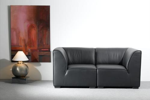 photo decoration canap modulable en cuir. Black Bedroom Furniture Sets. Home Design Ideas