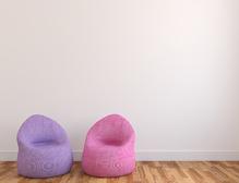Canapé pouf