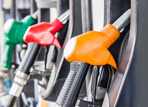 Carburants à la pompe