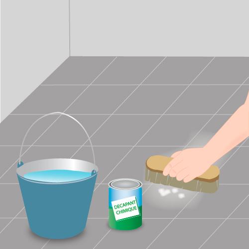 Carrelage design comment enlever de la peinture sur du for Enlever peinture carrelage