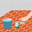 imperm abiliser des tomettes avec de l 39 huile de lin carrelage. Black Bedroom Furniture Sets. Home Design Ideas