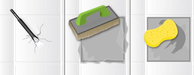 changer un carreau de carrelage mural - carrelage