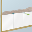 Carreler un mur en plâtre