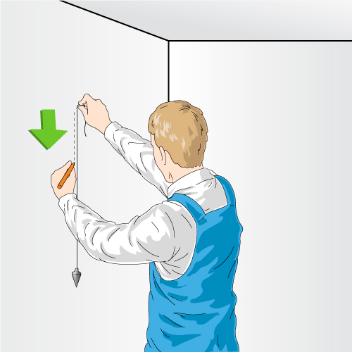 poser de la toile de verre sur un mur peinture. Black Bedroom Furniture Sets. Home Design Ideas