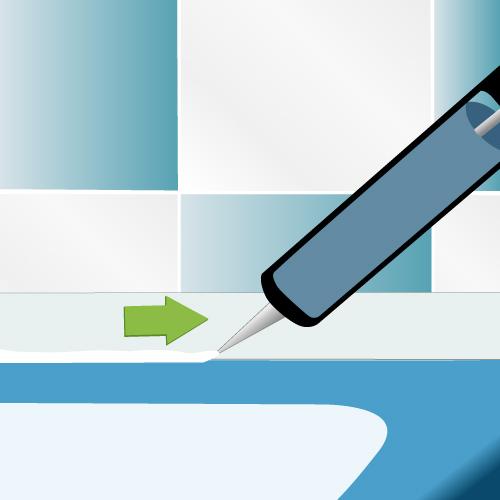 Peindre une baignoire salle de bain for Peindre une baignoire en resine