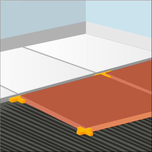 Poser du carrelage en diagonale carrelage for Poser carrelage sur carrelage