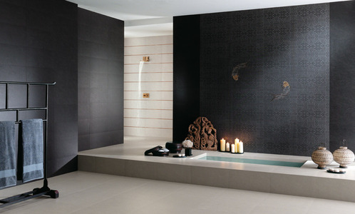 Carrelage mural usages dimensions pose d co ooreka for Grand carrelage mural salle de bain
