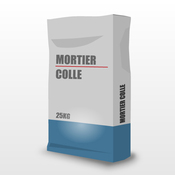 Mortier-colle