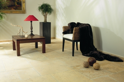 carrelage en pierre calcaire pose et prix ooreka. Black Bedroom Furniture Sets. Home Design Ideas