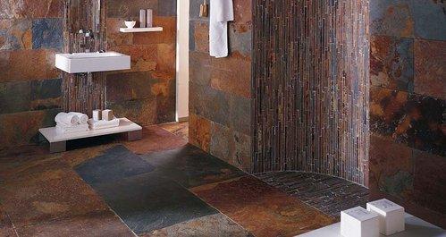 salle de bain ardoise et pierre carrelage en pierre infos et prix ooreka - Salle De Bain Ardoise Et Pierre