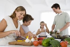 Famille cuisine legumes