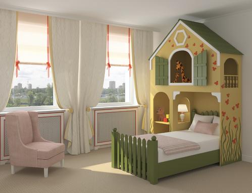 chambre jungle - Chambre Vintage Deco