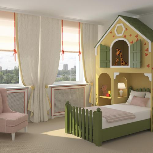 D co chambre fille 6 ans for Decoration porte chambre fille